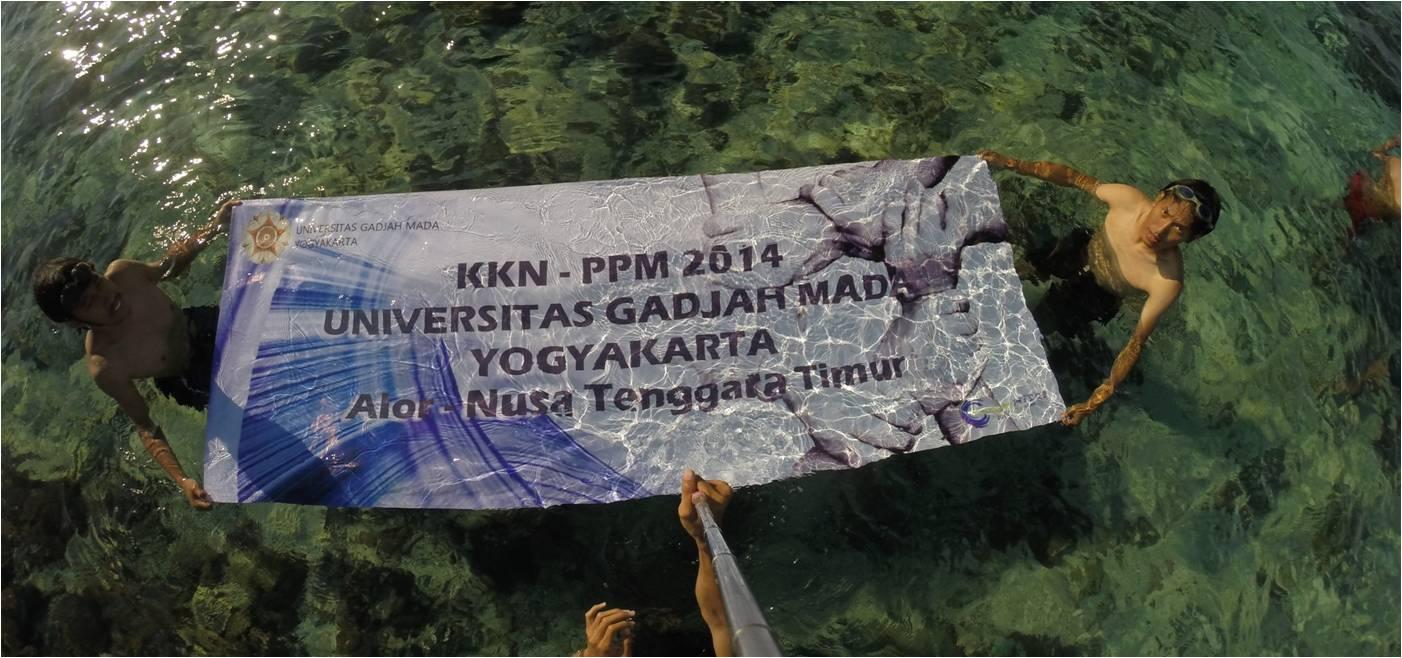Kuliah Kerja Nyata Mahasiswa UGM di Pulau Alor
