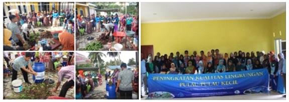 Peningkatan Kualitas Lingkungan di Pulau Poto Kab. Bintan